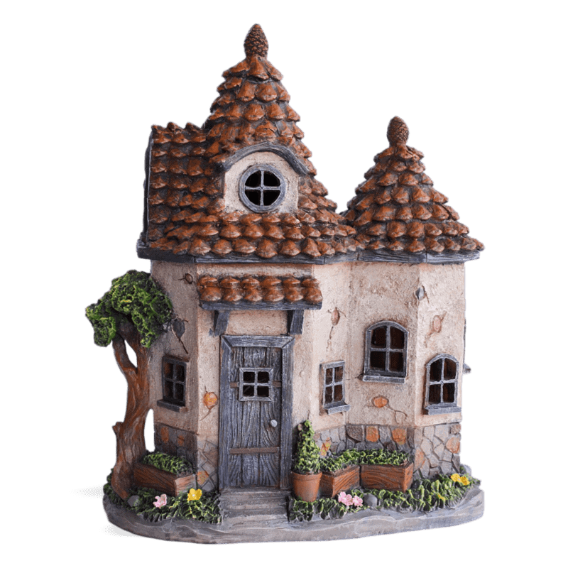 Wimbleberry Solar Fairy House