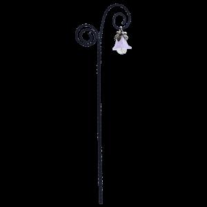 Flower Drop Swirl Lantern – Lilac