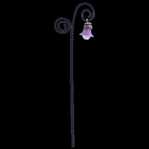 Flower Drop Swirl Lantern – Purple