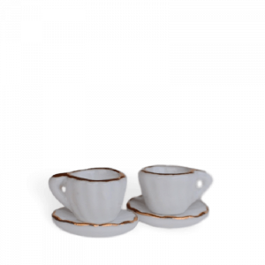 Coffee Cups & Saucers