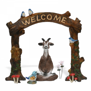 Floating Goat Welcome Garden Kit