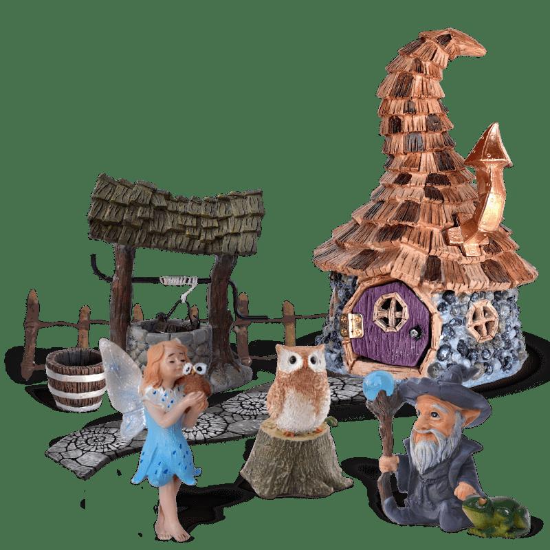 Hoxith Hollow Fairy Garden Kit