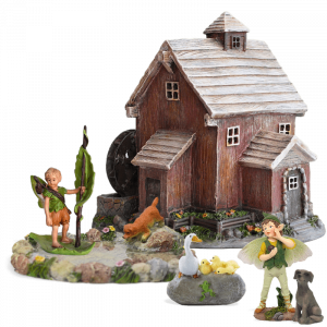 Poddle Watermill Fairy Garden Kit