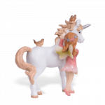 Unicorn with Pink Fairy_back