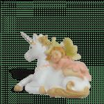 Unicorn with Sleeping Fairy_side