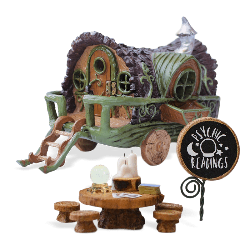 The Crystal Gazers Fairy Garden Kit