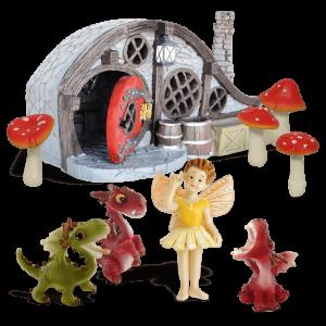 Dragon Nursery Fairy Garden Kit