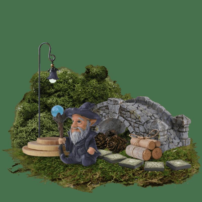 Fairy Garden Kit In A Box - Wandering Wizard