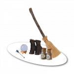 Fairy Witch Tool Kit Accessories