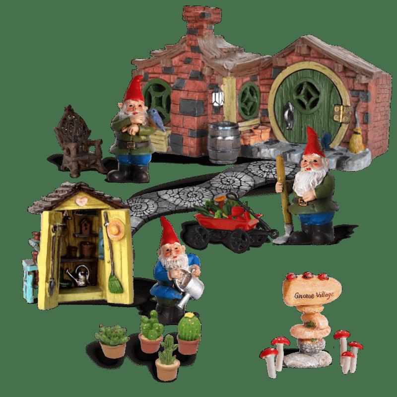 Gnome Village Garden Kit