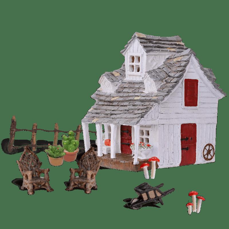 Primrose Cottage Fairy Garden Kit