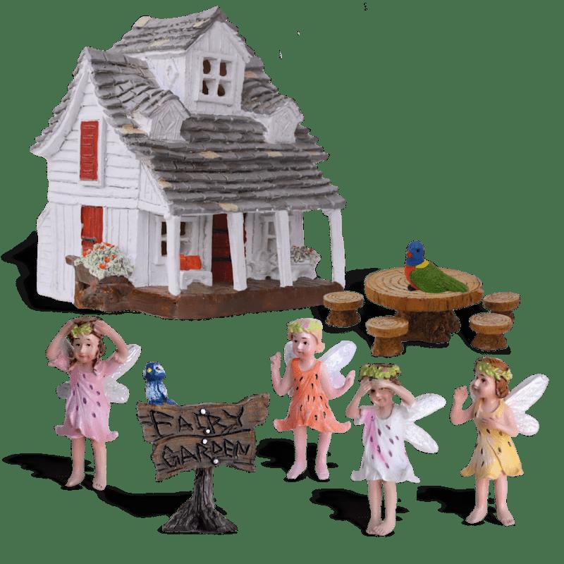 Rainbow Meadows Fairy Garden Kit