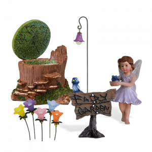 Sweet Viola Fairy Garden Kit