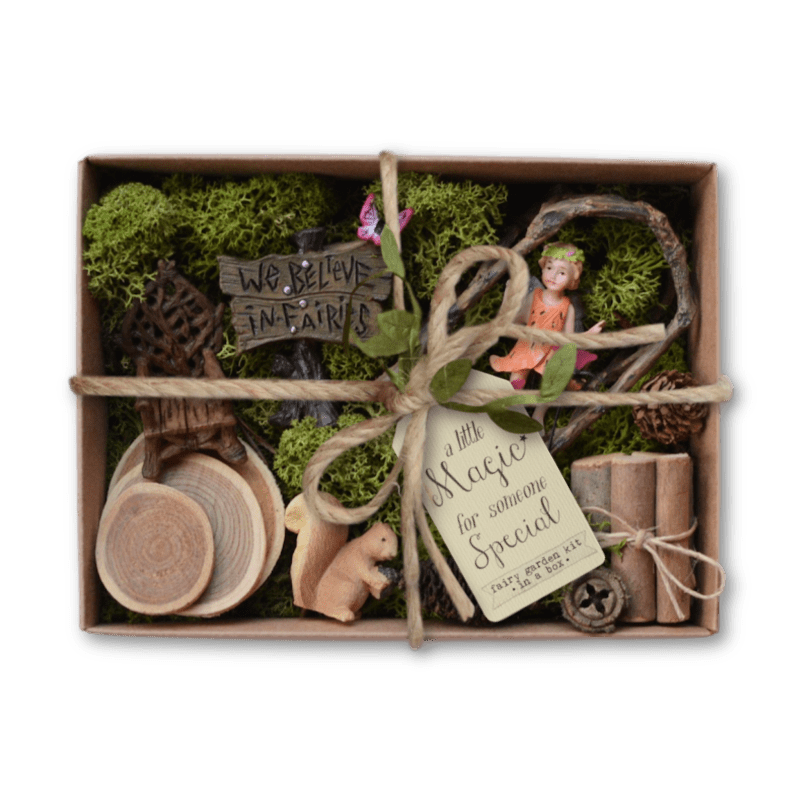 We Believe Fairy Garden Kit in a Box