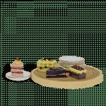 Dessert Platter_side view