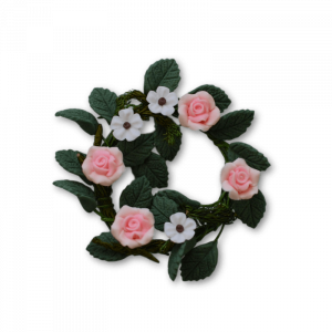 Flower Wreath – Pink