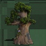 Tree Spirit Fairy House Solar_side 1