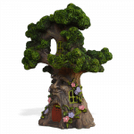 Tree Spirit Fairy House Solar