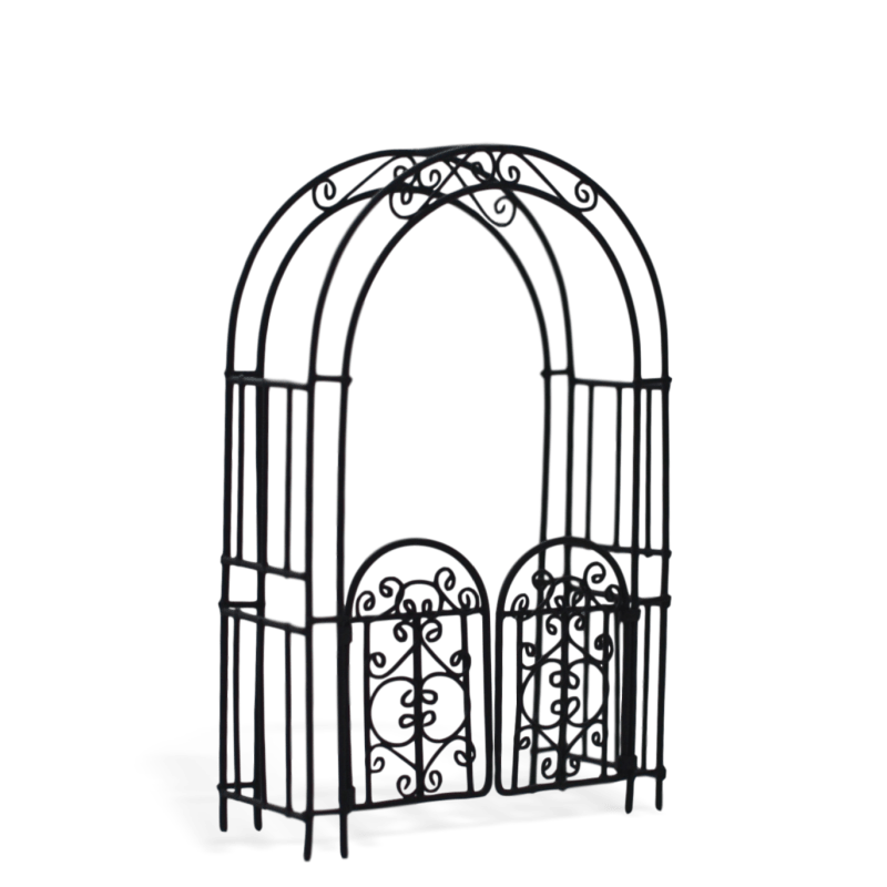 Victorian Arch with Gate