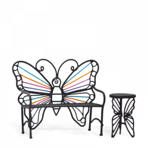Rainbow Butterfly Seat & Table