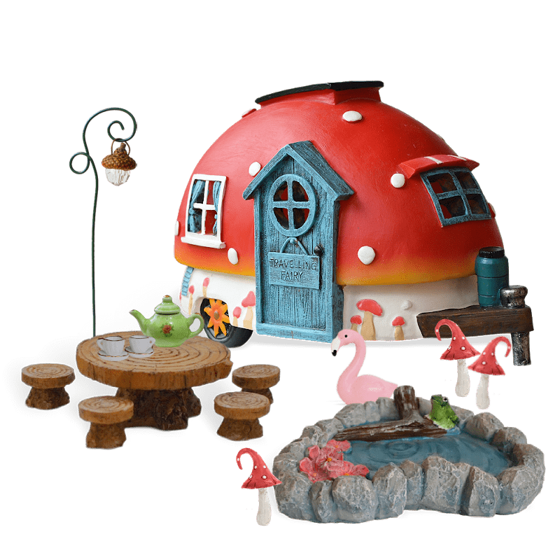 A Perfect Day Fairy Garden Kit