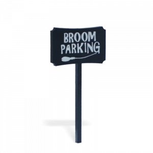 Broom Parking Sign