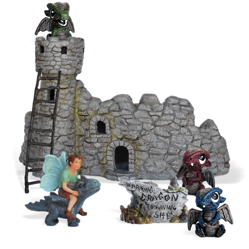Dragon School Fairy Garden Kit