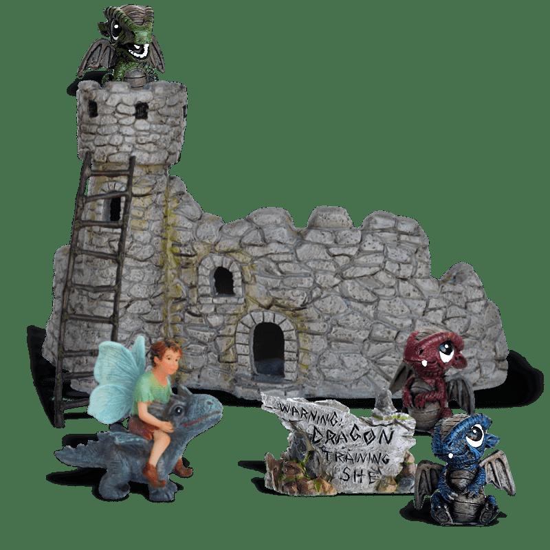 Dragon School Fairy Garden Kit