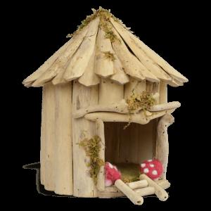 Driftwood Fairy Home