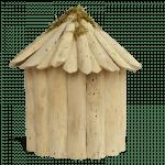 Driftwood Fairy House_back
