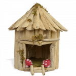 Driftwood Fairy House_front