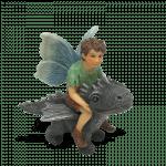 Fairy David on Dragon