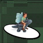 Fairy David with Dragon