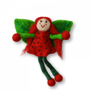 Felt Fairy Strawberry