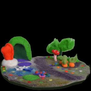 Magic Garden Felt Play Mat