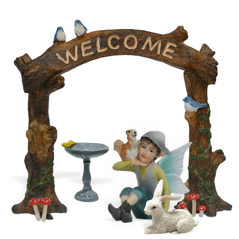 Welcome Woods Fairy Garden Kit