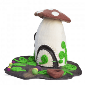 Woodland Felt Fairy Home