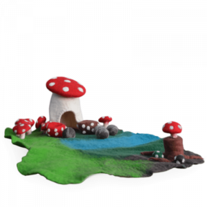 Toadstool Garden Play Mat