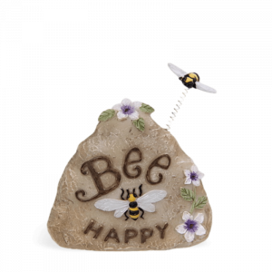 """Bee Happy"" Rock"