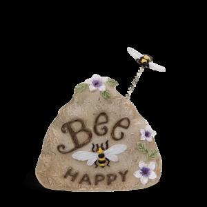 """""""Bee Happy"""" Rock"""