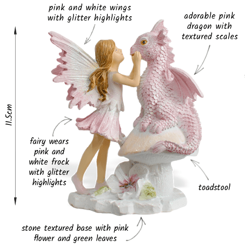 Fairy Ember and Dragon_details