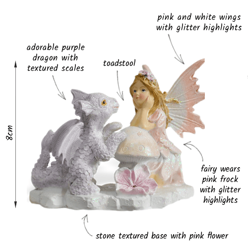 Fairy Kinley and Dragon_details
