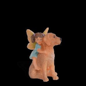 Fairy Milla with Golden Retriever