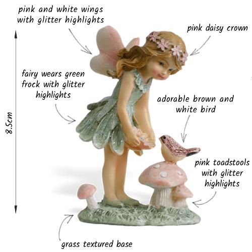 Fairy Sadie and Bird_details