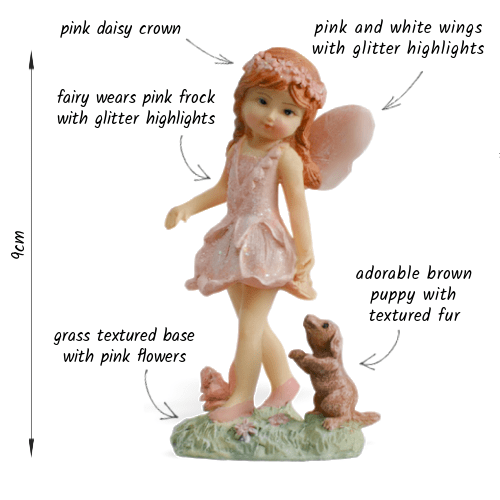 Fairy Sarah and Puppy_details