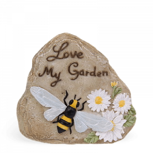"""Love My Garden"" Rock"