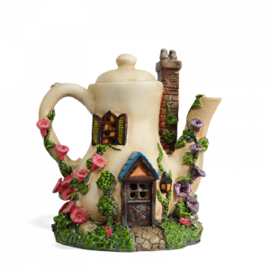 Teapot Fairy House – Solar