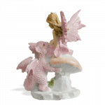 Fairy Eloise and Dragon_back view