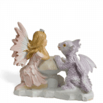 Fairy Kinley and Dragon_back view