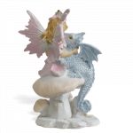 Fairy Laura and Dragon_back view